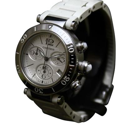 """Cartier Clock """"Pasha de Cartier Seatimer"""""""