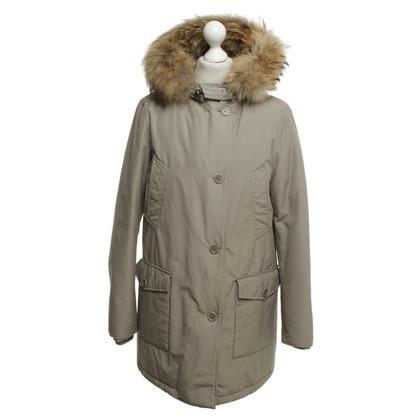 Woolrich Giù cappotto in grigio