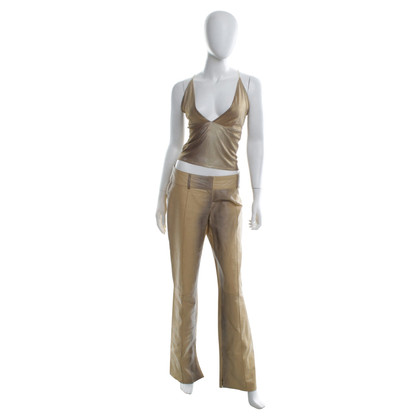 Patrizia Pepe Leather pants with top