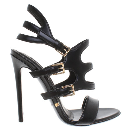 Gianmarco Lorenzi High Heels op zwart