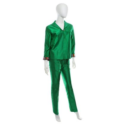 Etro Wild silk suit