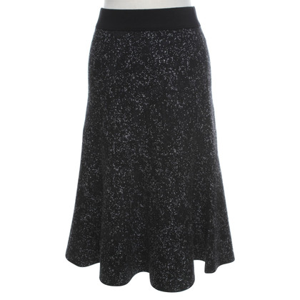 Theory Knitted skirt with pattern