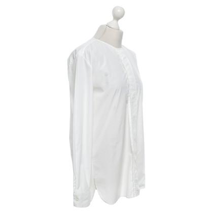 Loro Piana blouse longue en blanc
