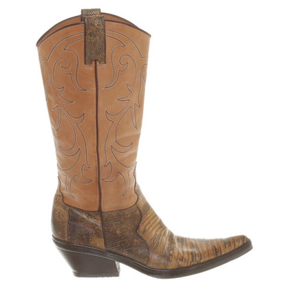 Other Designer Sartore - Boots with reptile leather