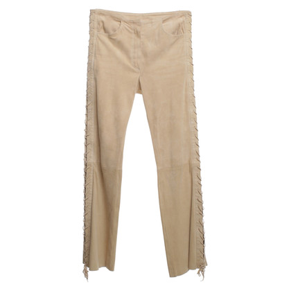 Jitrois Suede trousers in Beige