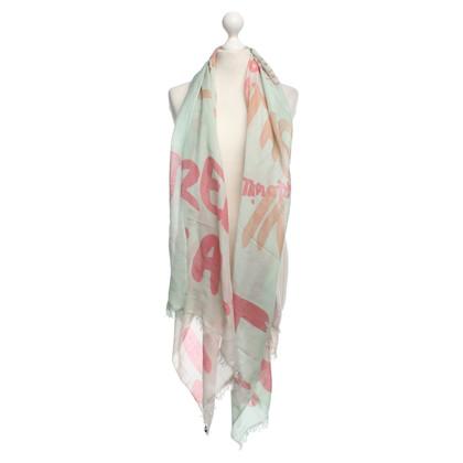 Altre marche Alberotanza - sciarpa fatta di cashmere / seta