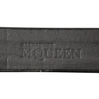 Alexander McQueen Patent leather belt