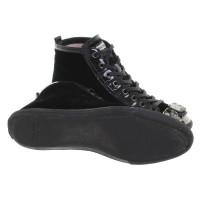Miu Miu Sneakers of velvet
