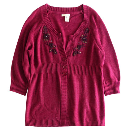 DKNY Embroidered cardigan