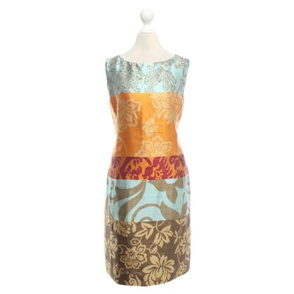 Oscar de la Renta Mehrfarbiges Kleid