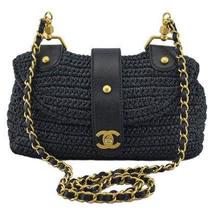 "Chanel ""Rafia Flap Bag"""