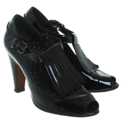 Moschino Peep-toes in patent leather