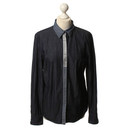 JOOP! Denim blouse in blue