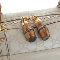Gucci Handtas van het leer in beige