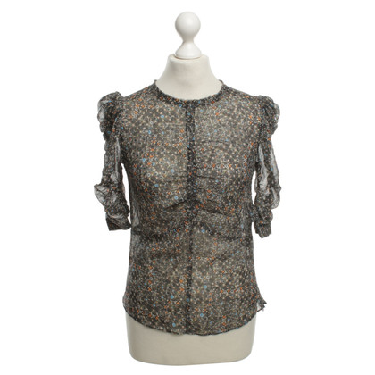 Isabel Marant for H&M Seidenbluse mit Muster