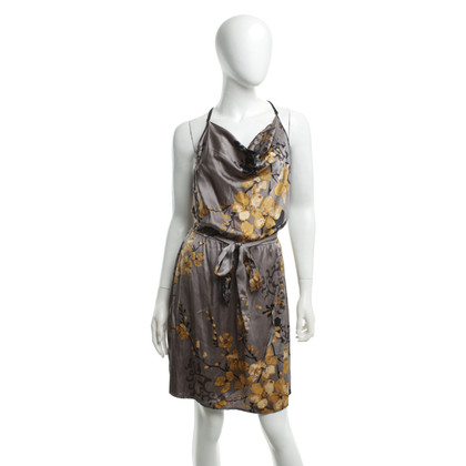 Hale Bob Silk dress with floral pattern