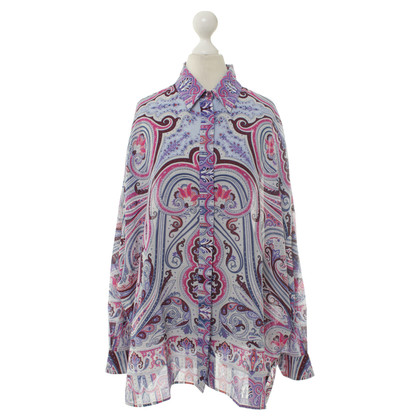 Etro Blouse Paisley pattern