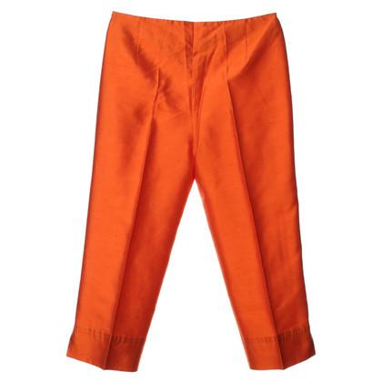 Escada Crease pants in Orange