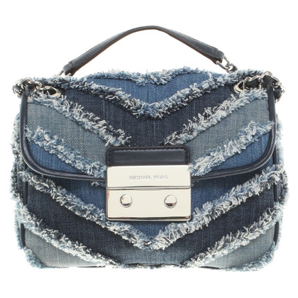 Michael Kors Shoulder bag in jeans look