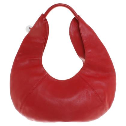 Furla lederen tas in het rood