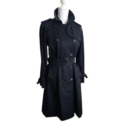 Burberry Blauer Trenchcoat
