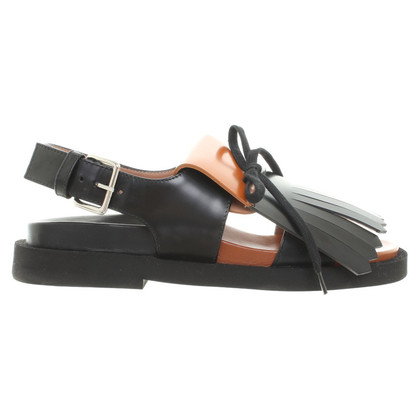 Marni Sandals with fringes
