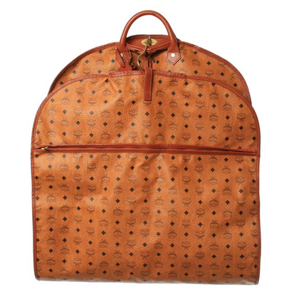 MCM Garment bag with logo embossed