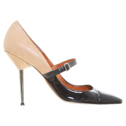 Lanvin Pumps im Ledermix