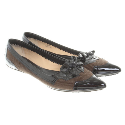 Tod's Ballerinas with lacing