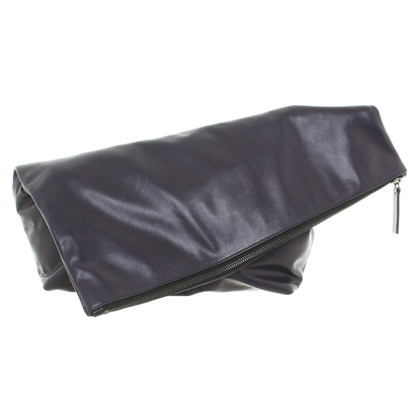 Jil Sander clutch in violet