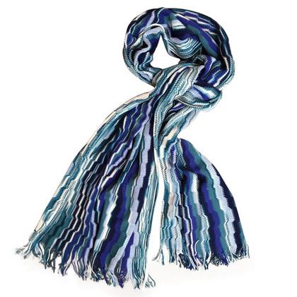 Missoni Wool blend knit scarf
