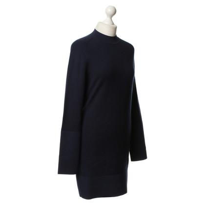 Balenciaga Maglia fine vestito in blu marino