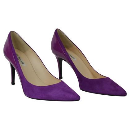 L.K. Bennett pumps in violet
