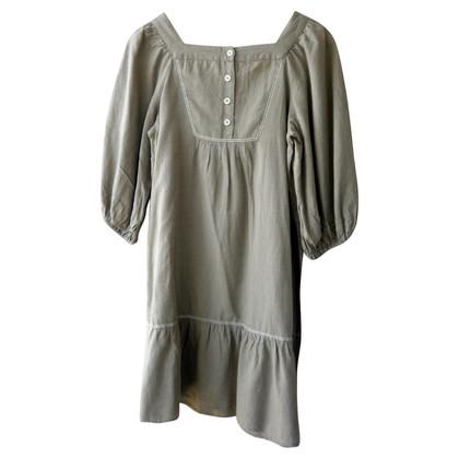 Sandro Cotton-linen dress