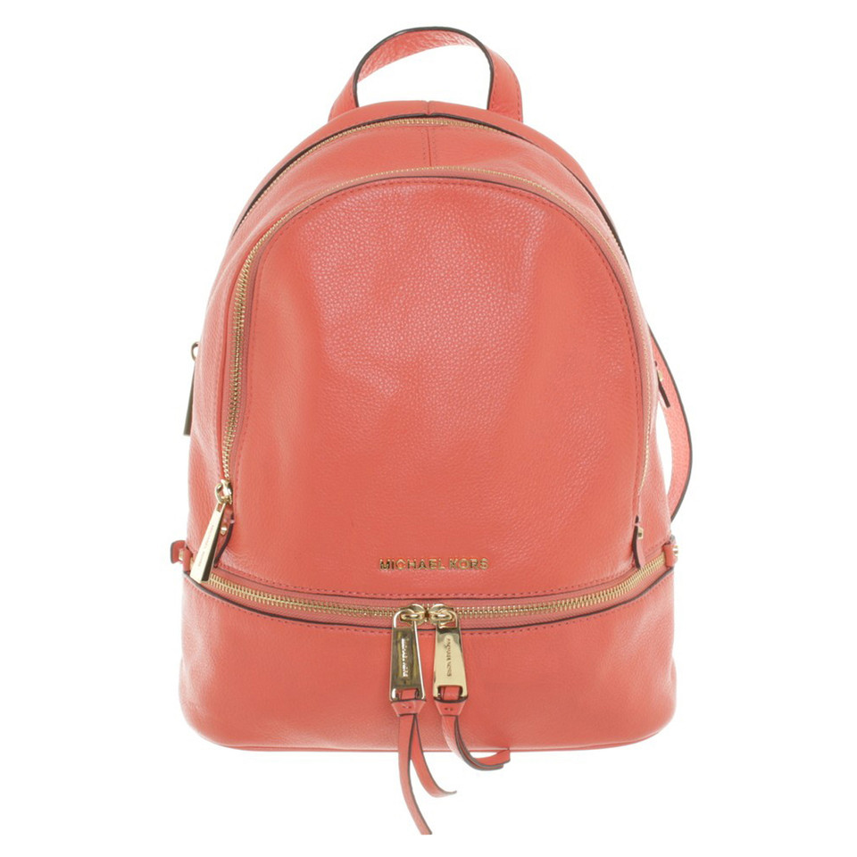 Michael Kors Backpack in Salmon