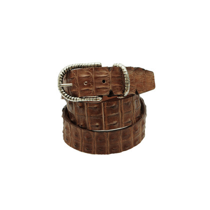 Ralph Gladen Crocodile leather belt