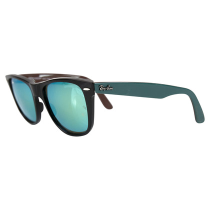 Ray Ban wayfarer black teal
