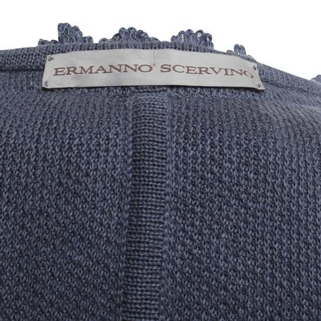 Ermanno Scervino Häkeljacke in Blau Blau Angebote Zum Verkauf Preise Online-Verkauf Sammlungen Günstig Online AGthgavjHY