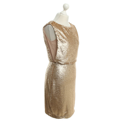 Calvin Klein Sequin dress in gold