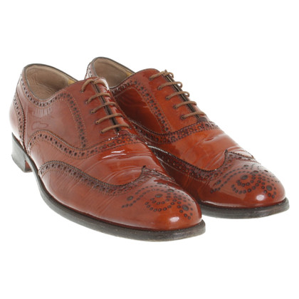 Benson's vernice Lace-up