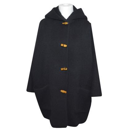 Gucci cappotto corto di alpaca