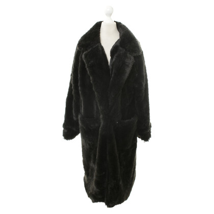 Ganni Coat in black