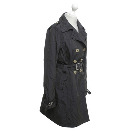 Jil Sander Trench in blu scuro