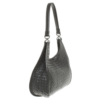 Bottega Veneta Handbag made of black leather