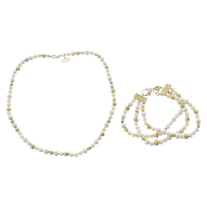 Christian Dior Set of bracelet & Necklace
