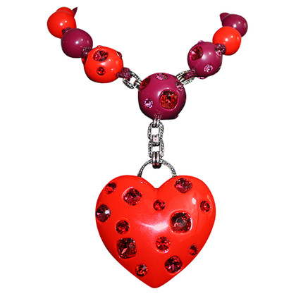Lanvin Necklace with Crystal heart