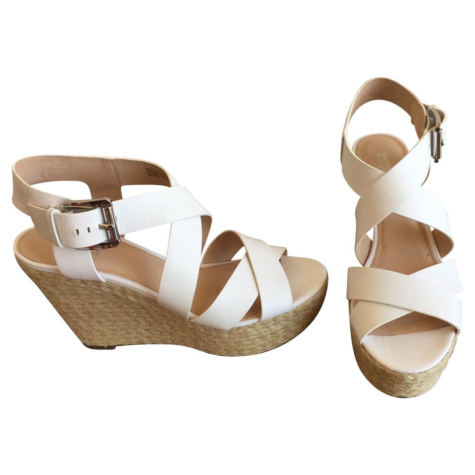 michael kors sandalen second hand michael kors sandalen. Black Bedroom Furniture Sets. Home Design Ideas