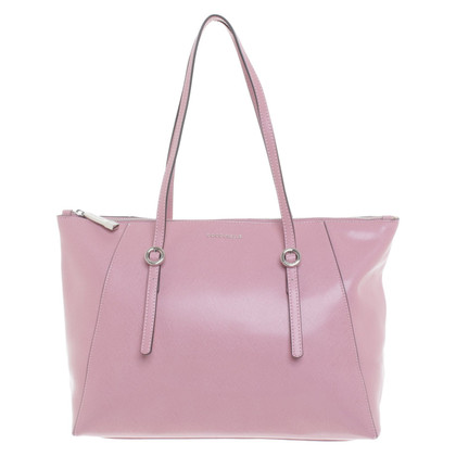 Coccinelle Shopper in oude roos