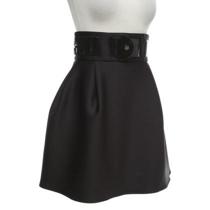 Elisabetta Franchi skirt in black