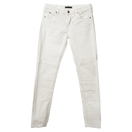 Jil Sander Jeans in wit